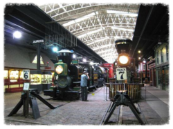 Trains-on-display